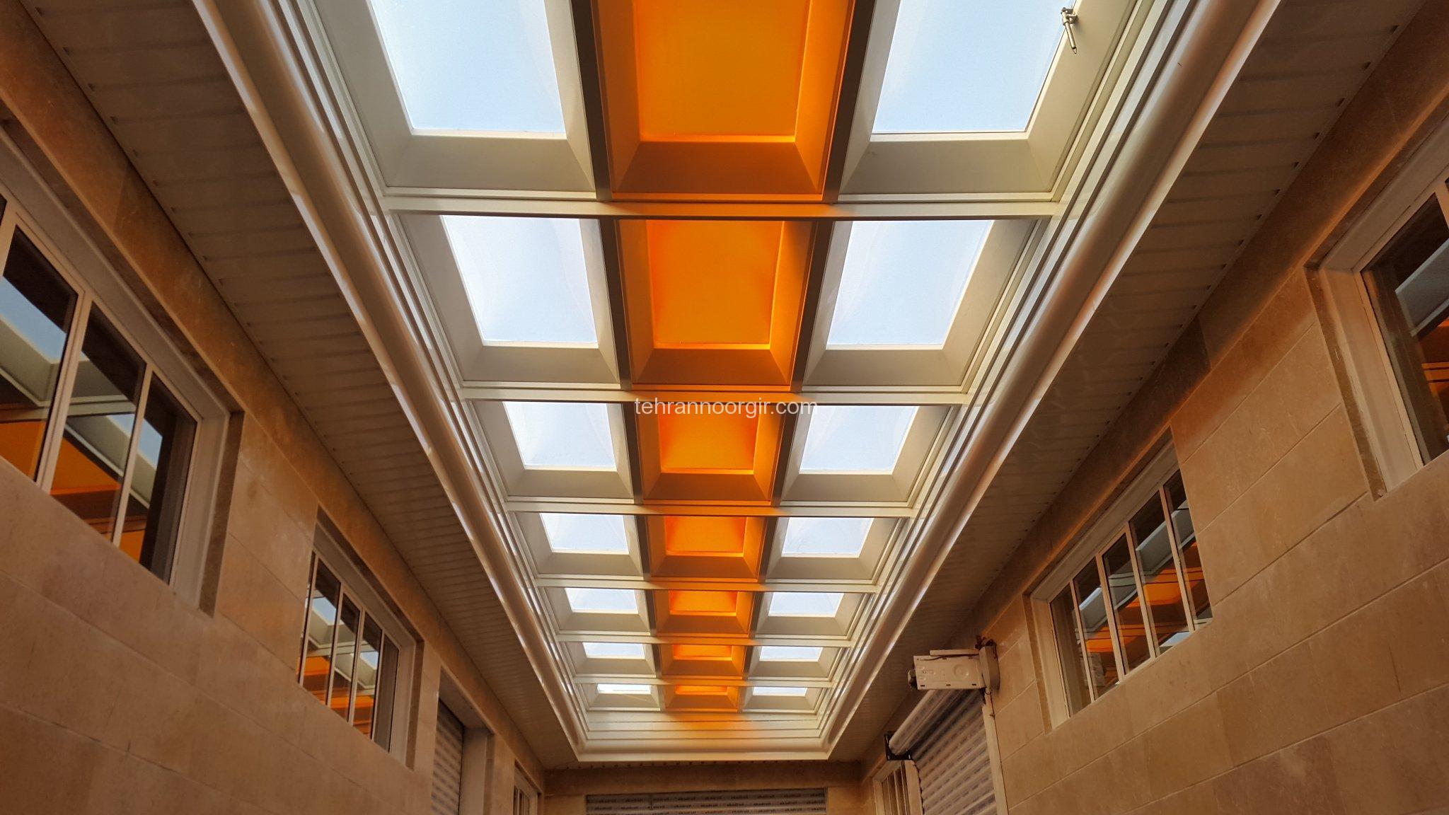 نورگیر سقفی زیبا