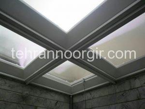 پوشش سقف حیاط خلوت و پاسیو