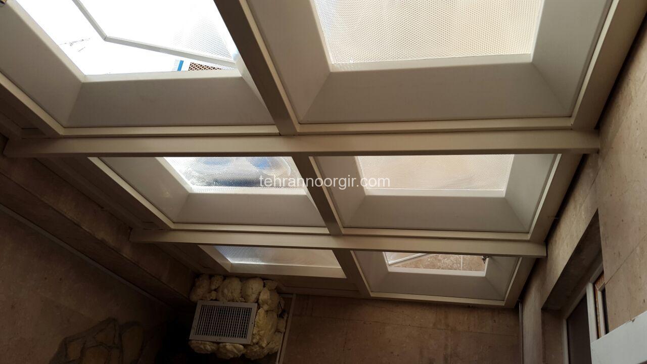 پوشش سقف پاسیو و حیاط خلوت