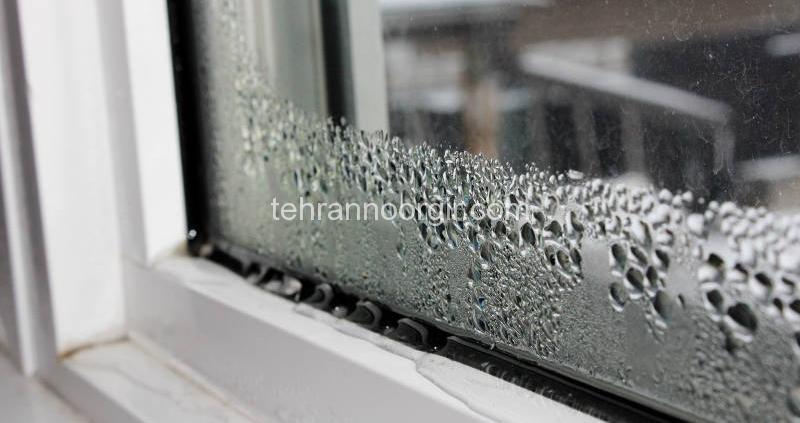 آب بندی شیشه نورگیر