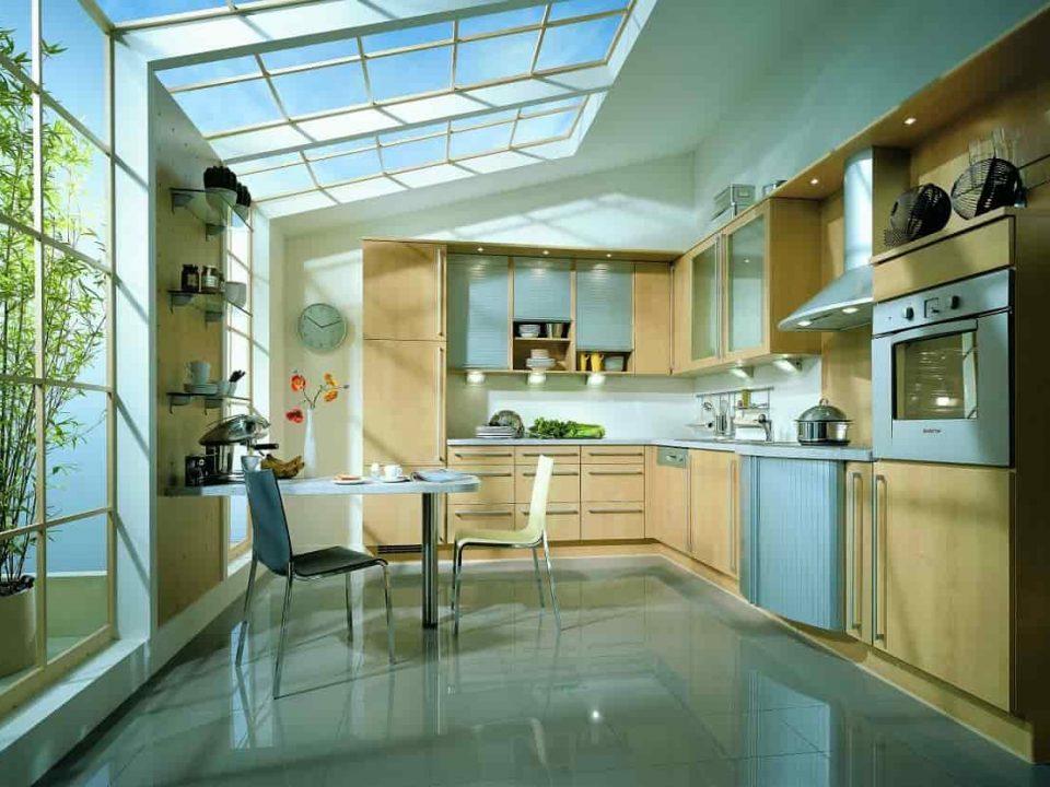 نورگیر سقفی آشپزخانه